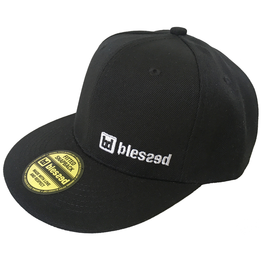 blessed-classic-snapback-cap-black-1 New Collection : Classic Snapback Cap Black