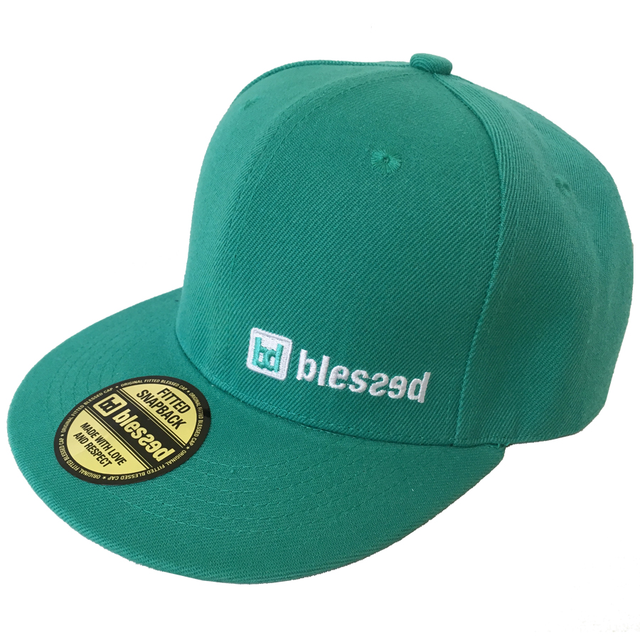 blessed-classic-snapback-cap-turquise-1 New Collection : Classic Snapback Cap Turquise