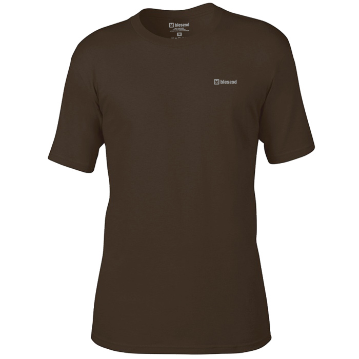 blessed-men-t-shirt-basic-chocolate-1 % SALE % : Basic Chocolate