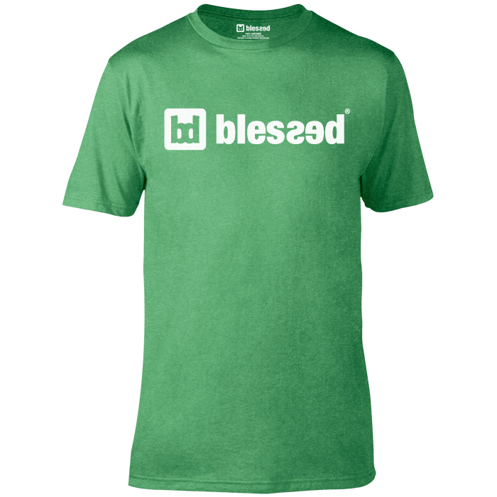 blessed-men-t-shirt-classic-pet-green-1 % SALE % : Classic PET Green