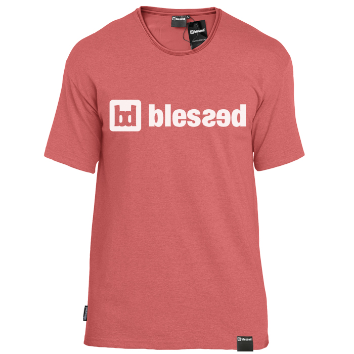 blessed-men-t-shirt-heather-cardinal-front New Collection : Classic Heather Cardinal