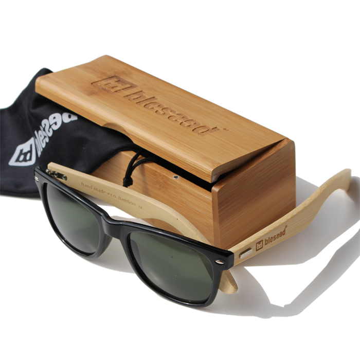 blessed-sunglass-bamboo-classic-black-1 New Collection : Sunglass Bamboo Classic Black