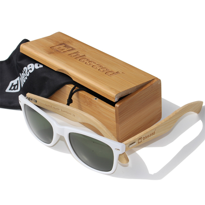 blessed-sunglass-bamboo-classic-white-1 New Collection : Sunglass Bamboo Classic White