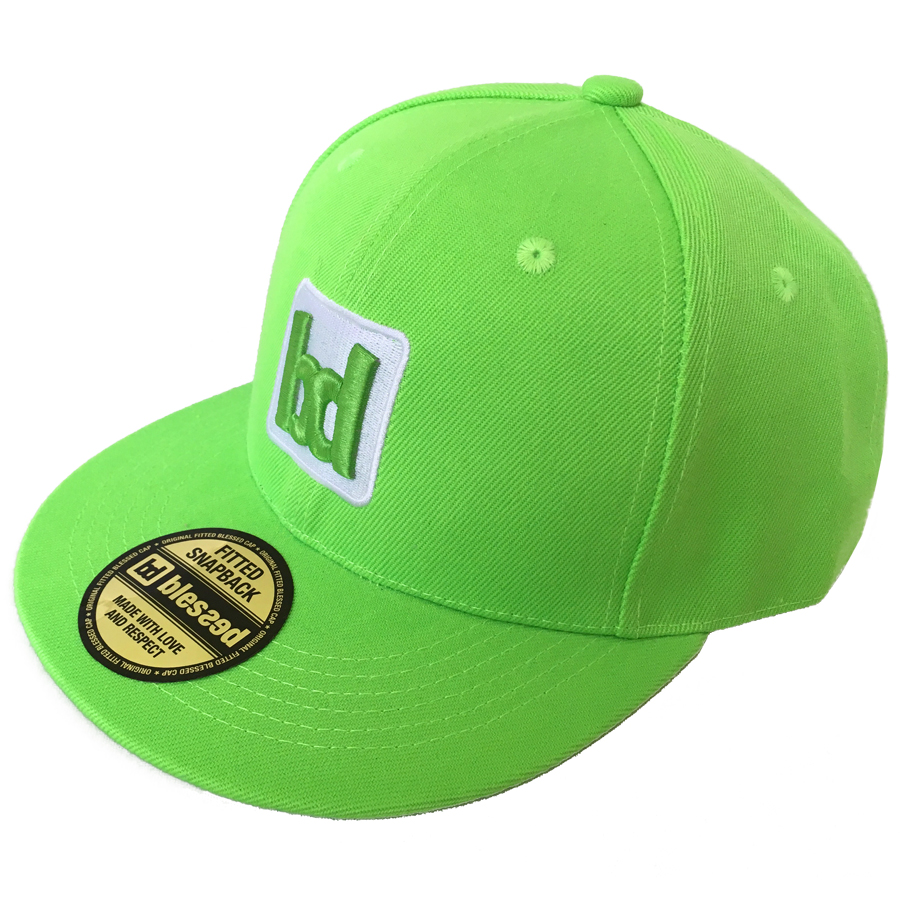 blessed-team-snapback-cap-lime-1 New Collection : Team Snapback Cap Lime
