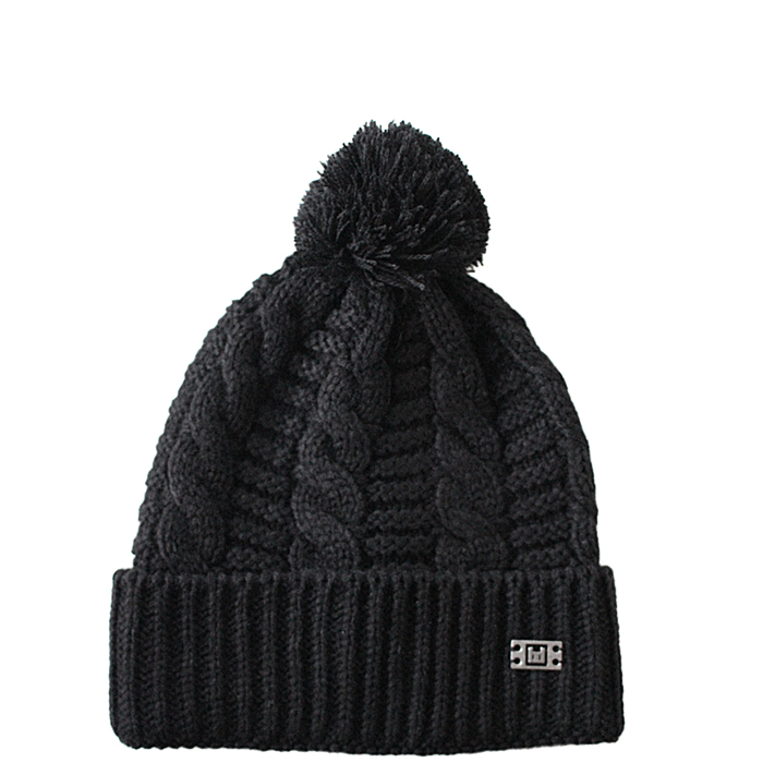 blessed_Wintermuetze_Black_Fluffy_top7 Accessoires : Beanie Black Fluffy
