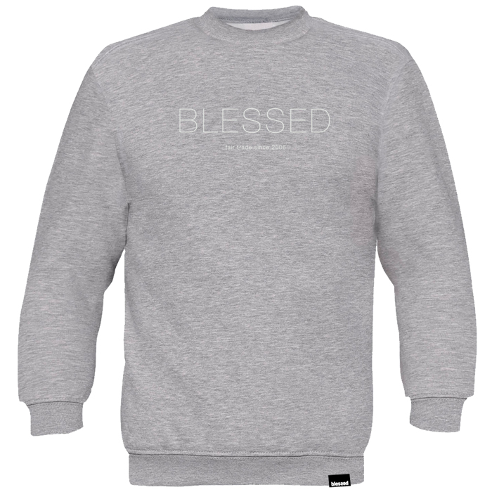 blessed_slim_sweater_grey_front New Collection : Slim Sweater Grey