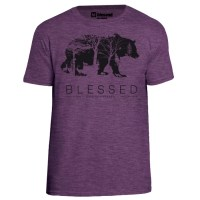 blessed_men-t-shirt-bear_heather-aubergine-front