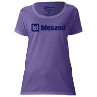 blessed_women-t-shirt-classic-heather-purple-front